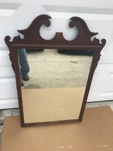Mahogany Duncan Phyfe Mirror in Cherry Point, North Carolina