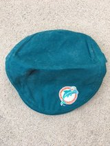 Miami Dolphins newsboy hat in Fort Bragg, North Carolina