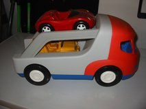 Little Tikes Car Hauler with 2 cars. $7 in Naperville, Illinois