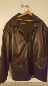 Kasper Brand Leather Jacket in Yorkville, Illinois