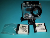 Gopro 2 housing and 2 batteries in Fort Campbell, Kentucky