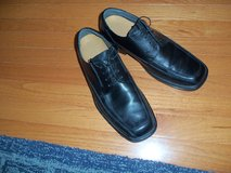Mens Black leather shoes in Quantico, Virginia