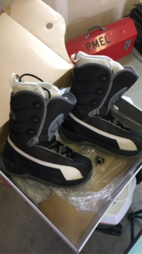 RIDE Snowboard boots size 8.5(man) in Travis AFB, California