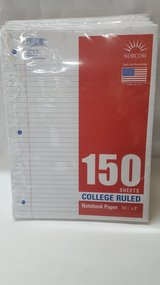150 Sheets College Ruled Notebook Paper in Spring, Texas