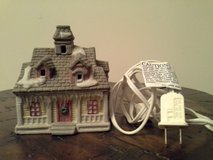 Christmas Village Yellow Cottage-Dickens Collections in Joliet, Illinois