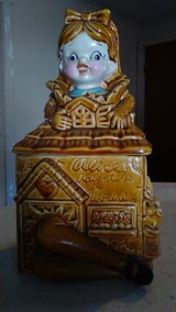 Vintage Alice in Wonderland cookie jar in Fort Polk, Louisiana