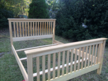 Queen size Mission Style bed frame in Fort Polk, Louisiana