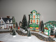 Dept. 56 Snow Village Lighted Buildings & Accessories in Eglin AFB, Florida