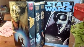 star wars trilogy vhs in Camp Pendleton, California