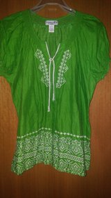 Boho shirt - embroidered in Spring, Texas