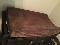 Changing pad with minky cover in Cleveland, Texas
