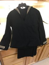 Vintage sailor suit in Okinawa, Japan