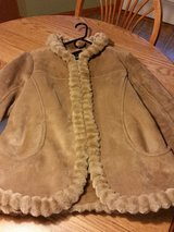 Suede Coat (large) in Yorkville, Illinois