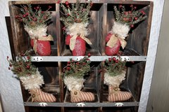 Christmas Mittens and Stockings in Ramstein, Germany