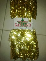 New - 25' Gold Tinsel Garland - Great Party/Birthday/Anniversary Deco in Ramstein, Germany