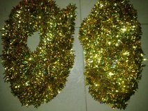 New - Very Rare 18' Gold W/ Multi-Color Sparkle Tinsel Garland - Great Party/Birthday/Anniversar... in Ramstein, Germany