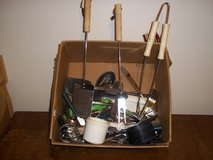 Box of Kitchen Utensils and Flatware in Clarksville, Tennessee