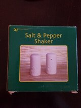 Salt and pepper shakers ,new in Joliet, Illinois