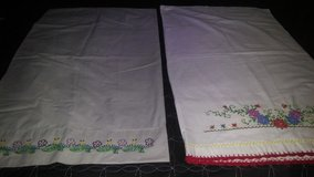 embroidered pillow cases in The Woodlands, Texas