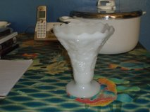 milk glass vase in Wilmington, North Carolina