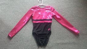 GK brand Sparkly Pink and Black Leotard Sz Child Large in Glendale Heights, Illinois