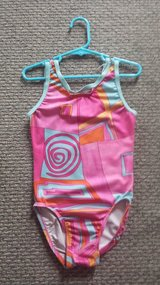 Graphic Pink Leotard Sz Child Large in Plainfield, Illinois