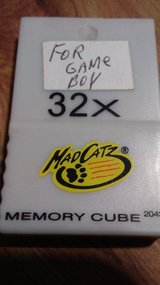 "Game Boy ""mad catz"" 32x  memory cube in Alamogordo, New Mexico"