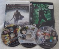 FIVE Great PS3 Action Games Like New in Camp Lejeune, North Carolina