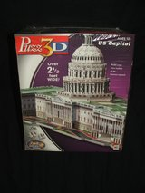 3D Puzzle U.S. Capitol  by Wrebbit Over 2.5 Feet Wide NEW in St. Charles, Illinois