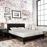 SALE!  QUEEN PLATFORM URBAN STYLING LEATHER BED FRAME /NEW! in Camp Pendleton, California
