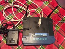 Linksys WRT54G V8 Wireless router with 4-port switch in 29 Palms, California