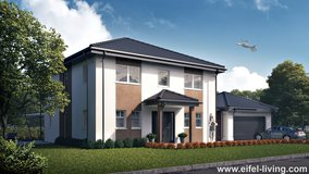 Modern Homes planned for American Families Overseas. in Spangdahlem, Germany