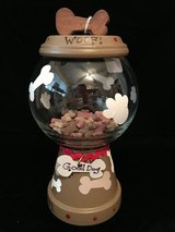 dog treat jar in Travis AFB, California