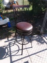 Two Barstools in Fort Riley, Kansas