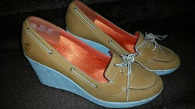 New / Leather / Timberland Ladies Wedges in Fort Campbell, Kentucky
