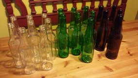 multi color glass bottles in The Woodlands, Texas