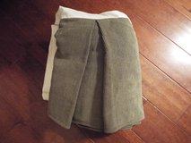 King Size Bed Skirt (Olive Green) by Croscill in Camp Lejeune, North Carolina