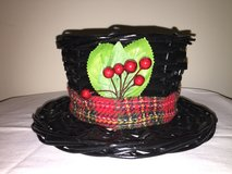 Small Christmas Hat Basket in Plainfield, Illinois