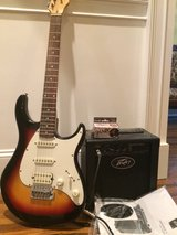 Peavey Raptor Plus Electric Guitar with Amp & Tuner in Fort Campbell, Kentucky