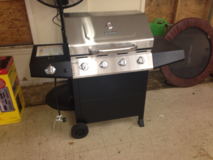 New Stainless Steel BBQ Grill in Fort Polk, Louisiana