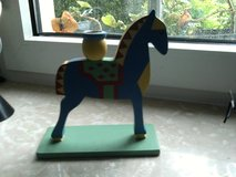 Horse candle holder in Ramstein, Germany