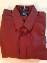 Dark Pink Stafford Dress Shirt in Lockport, Illinois
