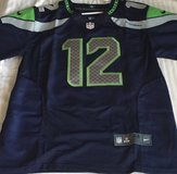 #12 FAN Seahawks Blue Stitched Nike NFL Adult XL Jersey (NEW) in Tacoma, Washington
