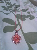 Red Bead Necklace in Alamogordo, New Mexico