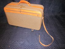 HARTMANN LUGGAGE Tweed with Leather Trim VINTAGE in Naperville, Illinois