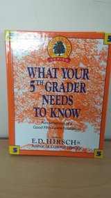 What Your 5th Grader Needs to Know Hardcover Book in Westmont, Illinois