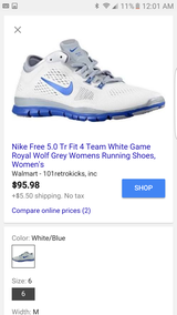 Nike free5.0 TR Fit 4 gymshoes in Joliet, Illinois