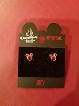 Mickey Mouse Birthstone Earrings in Bolingbrook, Illinois
