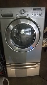 PARTS/LG washer / pedestal in Naperville, Illinois