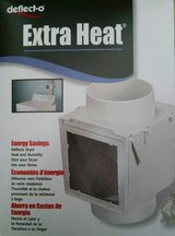 Extra Heat for your Home - Dryer vent heater heating box from Deflecto in Schaumburg, Illinois